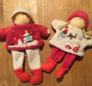 てくてく人形クリスマス