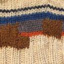 ニットの穴お直し◆セーターの穴をかわいく補修するダーニング