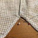 ユニクロのシャツを短くして自分好みに◆裾上げの方法