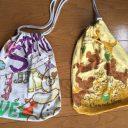Tシャツリメイク巾着袋を簡単手作り♪子供が喜ぶ可愛い袋の作り方