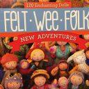Felt Wee Folkの本が可愛すぎ◆ウッドビーズの小さな人形