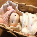 赤ちゃん人形を手作り◆世界中の赤ちゃんにお誕生日おめでとう‼︎