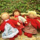 小さな着せ替え人形の作り方◆お子さんに手作りしてみませんか