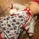 思い出の洋服から人形のお洋服に◆リメイクで変身
