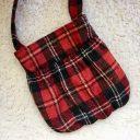 女の子用の小さなバッグの作り方◆お人形の入るポケット付き
